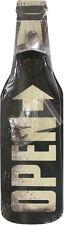 Wandflaschenöffner - OPEN schwarz/weiss - Flaschenöffner für die Wand - GB7255