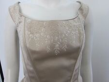 STUNNING AUGUSTA JONES WEDDING/PROM EMBROIDERED BODICE AND  MATCHING SKIRT