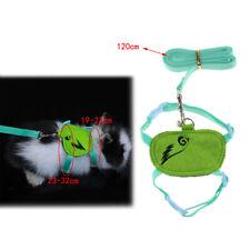 Harness Pet Leash Strap Lead For Rabbit Ferret Chinchilla Guinea Pig