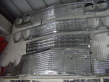 1958 60 62 63 64 65 66  68  CHEVY IMPALA CONV SS FRONT CHROMED GRILLES
