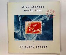 Dire Straits World Tour - On Every Street + Ticket Stub 1991