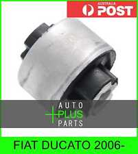 Fits FIAT DUCATO 2006- - Rear Rubber Bush Front Arm Wishbone Suspension