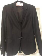 Calvin Klein Collection Ladies Jacket Black/Dark Grey BNWT RRP £390.00 Size 10