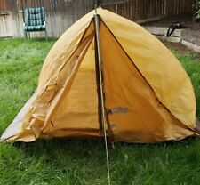 ACADEMY BROADWAY VINTAGE CAMPING PUP TENT COMPLETE