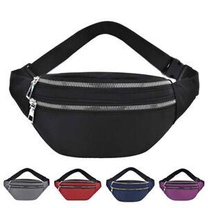 Waist Pack Casual Crossbody Chest Bag Unisex Hip Bum Bag Travel Belt Bag New