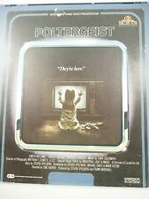 Poltergeist MGM/UA Video Disc CED 1983 MD100165