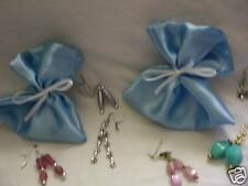 40 Baby Shower Gift Bags With Earrings Favours /Prizes BOY Blue