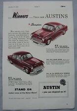 1954 Austin Original advert No.2