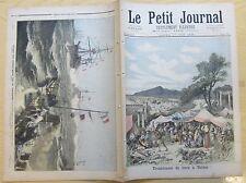 Le petit journal 1893 134 Tremblement de terre à Thèbes
