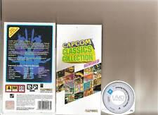 Colección de Capcom 20 Juegos Retro remezclada SONY PSP Raro