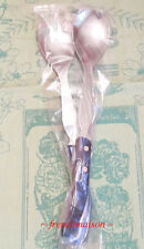 CLAUDE DOZORME Laguiole French Bee Dinner Lunch SALAD FORK + SPOON Set New Blue