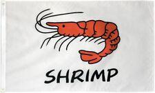 """New listing """"Shrimp"""" 3x5 ft flag polyester wt"""