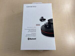 ONKYO W800BT Bluetooth earphone sealed type / full wireless black W800BTB