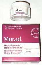 Murad Hydro-Dynamic Ultimate Moisture facial lotion cream boxed travel size mini