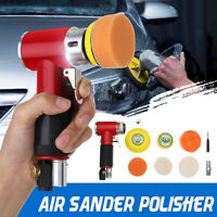 Car Air Sander Polisher Buffer Orbital Polishing Pad Grinding Sander Waxing Pad