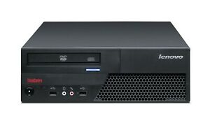 PC COMPUTER FISSO ECONOMICO USATO FUNZIONANTE LENOVO CORE 2 SENZA RAM HDD 250GB