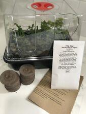 Heavy Duty Small Mini Greenhouse Seed Starting Propagator + Peat Pellets + More