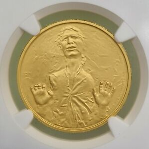 2016 NIUE GOLD STAR WARS HAN SOLO $200 NGC PF70 ULTRA CAMEO 1 TROY OZ GOLD COIN