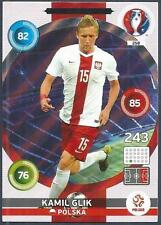 PANINI EURO 2016 ADRENALYN XL CARD- #258-POLSKA-POLAND-DEFENSIVE-ROCK-KAMIL GLIK