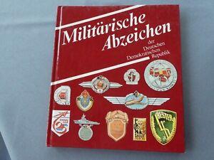 Feder, Klaus: Militärische Abzeichen der DDR, Hardcover 84 S.
