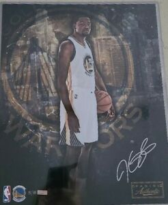 Panini KEVIN DURANT Signed Golden State Warriors 16x20 Photo 31 of 35 NEW RARE