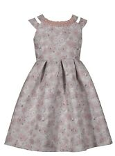 RINGAROSIES AGE 12/13 Girls Party Occasion Dress Summer Pearl Pink Party Sequin