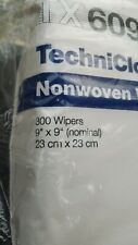 """Tx609 Texwipe TechniCloth 9"""" x 9"""" Cellulose and Polyester Cleanroom Wiper"""