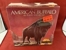 Super Rare *Sealed* Aurora American Buffalo 1972 Plastic Model Kit #402 Usag10