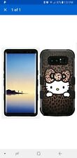 Samsung Galaxy Note 8 Hard+Rubber Hybrid Case Hello Kitty