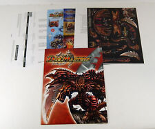 2005 Duel Masters CCG Trade Day Promo Handout Folder with Garkago Dragon Model
