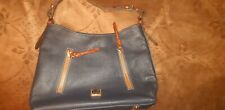 Womens leather hobo bag by Dooney and Bourke
