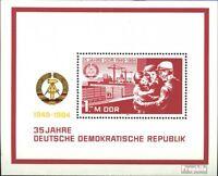 DDR Block78 (kompl.Ausgabe) postfrisch 1984 35 Jahre DDR