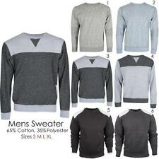 Unbranded Men's No Pattern Cotton Jumpers & Cardigans