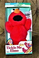 Tickle Me Elmo 1996 Sesame Street NOS Works New Batteries All Paperwork