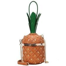 Luxury Diamond Pineapple Fashion Women Handbag Shoulder Bag Chain Purse Bucket
