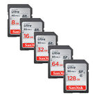 SanDisk 8GB 16GB 32GB 64GB 128GB SD SDHC SDXC ULTRA lot Class10 UHS for Camera