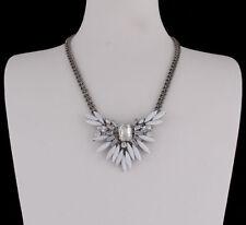 Modeschmuck-Halsketten & -Anhänger aus Metall-Legierung mit Baguette-Schliffform