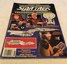 STAR TREK THE NEXT GENERATION TECHNICAL JOURNAL STARLOG 1991