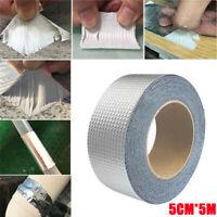50mm x 1m Super Strong Waterproof Tape Butyl Seal Rubber Aluminum Foil Tape NEW*
