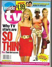 NICOLE RICHIE TERI HATCHER KELLY RIPA Inside TV Magazine 05 MELISSA REEVES DOOL