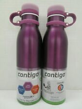 2 CONTIGO STAINLESS STEEL THERMALOCK WATER BOTTLE VACUUM INSULATED - NT 5207