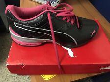 4aa22a970389 NEW PUMA Tazon 6 FM Women s Running Shoes Black Pink Size US 7  EU