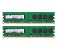 Samsung 4GB 2X 2GB DDR2 800MHz PC2-6400 DIMM RAM Desktop Memory For intel CPU