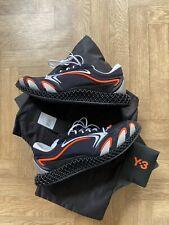 Adidas Y3 Runner 4D UK Tamaño 10.5 raras Zapatos FU9208