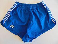 Vintage 80 ENNERRE Pantaloncini XS S Blu 3° Calcio Shorts Glanz Running NOS VTG