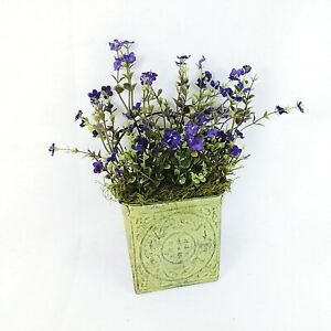Floral Wall Decor Metal Faux Greenery Handcrafted by Collins Creek Collections