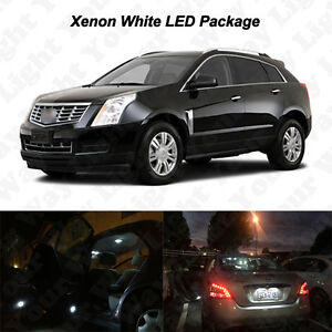 20 x White LED Interior Bulbs + License Plate Lights For 2010-2016 Cadillac SRX