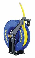 "GOODYEAR Steel Retractable Air/Water Hose Reel with 3/8"" X 50 ft. Rubber Hose"
