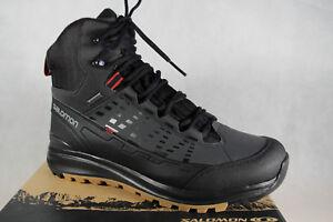 Salomon Stiefel Boots schwarz wasserdicht Gore-Tex Kaipo MID GTX NEU