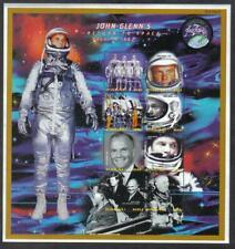 Palau Space Friendship 7 President John F Kennedy John Glenn Astronaut Minisheet